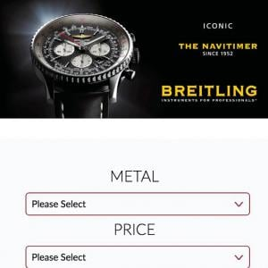 watch selection form