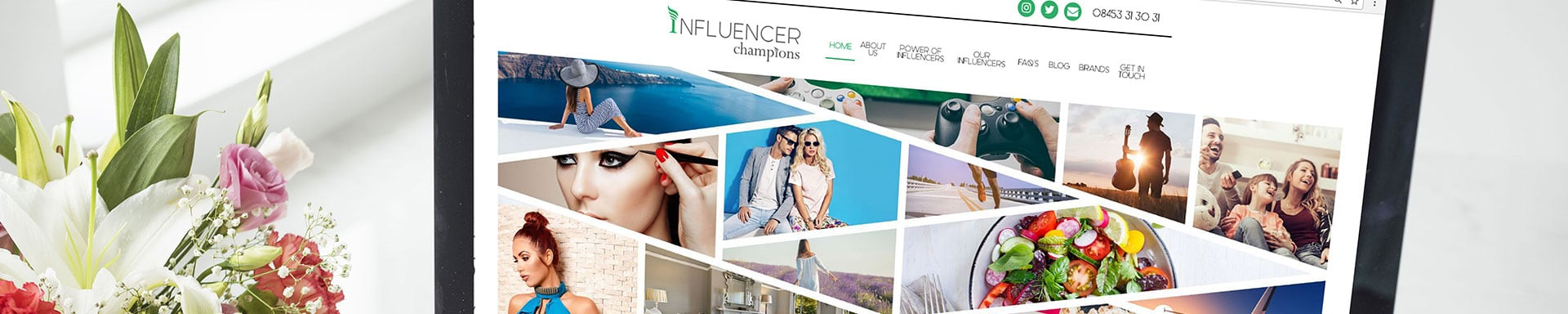 Influencer champions